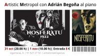 Cine mudo con piano: Nosferatu.